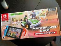 Mario Kart Live Home Circuit LUIGI SET Cart Nintendo Switch New in Box UNOPENED
