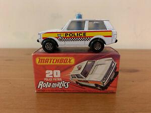 Matchbox Superfast 20 Police Patrol