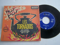 EP 4 TITRES VINYLE 45 T , LES TORNADOS , HOT POT . VG  / EX  . DECCA 457030 .