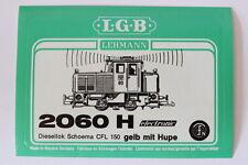 LGB 2060 H Diesellok Schoema CFL 150