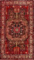 Geometric Medallion Traditional Oriental Area Rug Hand-Knotted Wool 5x9 Carpet