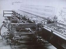 Mule Spinning, Magic Lantern Glass Slide, (Mason Machine Works Photograph)