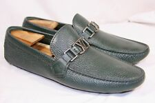 e938a4ade70c Authentic Louis Vuitton Hockenheim Moccasin Green Driver Loafer 7 N LV  9.0-9.5US
