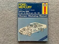 Haynes Ford & Mercury Mid-Size Models 1975 thru 1986 Automotive Repair Manual