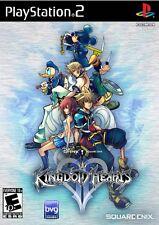 Kingdom Hearts II - Original Black Label Version (Sony PlayStation 2, 2006)