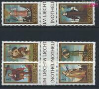 Liechtenstein 1341ZS-1346ZS Zwischenstegpaare (kompl.Ausg.) postfrisch 2004 Noth