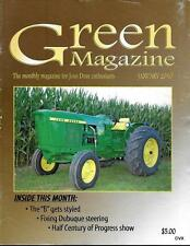 John Deere Green Magazine January 2010 Featured Models JD Styled B & R Tractors
