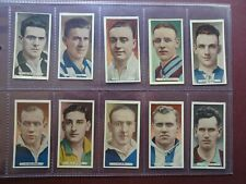 More details for famous footballers issued 1934 by ardath set 50