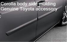 14-15 TOYOTA COROLLA PAINTED 070 BLIZZARD PEARL BODY SIDE MOLDING PT938-02140-20
