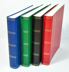 Large A4 Stock book Stamp Album with 60 White or Black Pages 40% OFF From £16.25