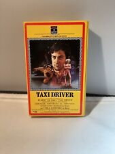 Taxi Driver Vhs(1985) Crime Thriller Scorsese Side Loader Rca Columbia Rare Vhs