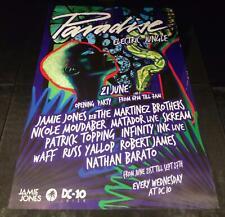 More details for paradise 2017 (jamie jones) @ dc-10 club - ibiza club posters - techno music dj