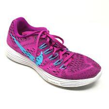 Women's Nike LunarTempo Shoes Sneakers Size 8 Running Purple Blue White B7