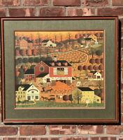Charles Wysocki Lithograph. Butternut Farms Bucks County PA. Signed. 134/1000