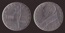VATICANO 100 LIRE 1955 FEDE - PIO XII