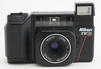 Nikon L35 TW AD Point & Shoot MACRO 38/65mm Twin Focal Length 35mm Camera [Exc]