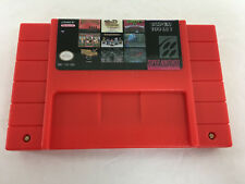 Super Nintendo Snes 100 in 1 Game Cartridge, USA Seller!!,  Fast FREE Shipping!!