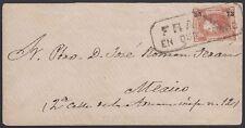 Mexico, 1873. Cover 95, Queretaro - Mexico City