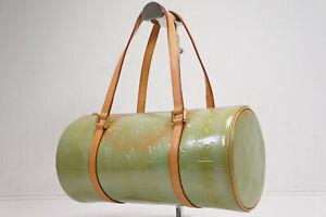 Auth Pre-owned Louis Vuitton Vernis Blue Bedford Barrel Hand Bag M91007 210130