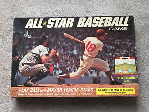 VINTAGE CADACO All Star Baseball Game 1968 No. 183 60 Player Discs Score Cards