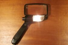 "Vintage ""BAUSCH & LOMB"" Electric Light Magnifying Glass 4"" x 2"" Lens ICONIC!"