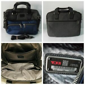 Tumi Briefcase Alpha Bravo Albany Slim Commuter 110202 Gently Pre-Owned EX Cond.