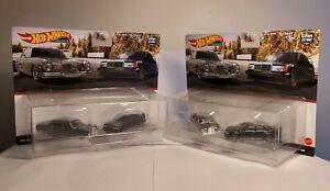 Hot Wheels Mercedes Benz 2 Pack Set '72 280 SEL 4.5 & 190E Car Culture Lot of 2