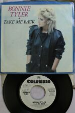 Rock Picture Sleeve Promo 45 Bonnie Tyler - Take Me Back / Take Me Back On Colum