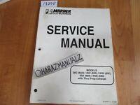 Marine Outboards 20C 6A9 25C 695 W25 695 30A W30 689 Service Manual