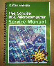 ACORN BBC MICRO NEW CONCISE SERVICE MANUAL & SCHEMATICS