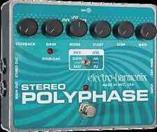 EHX Electro Harmonix Stereo Polyphase Analog Optical Envelope/LFO Phase Shifter