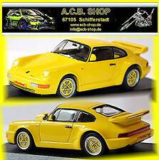 Porsche 911 Carrera 3,2 L Anniversaire Typ 964 1989 jaune vitesse jaune 1:43