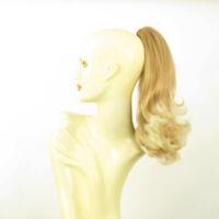 Postiche queue de cheval mi-longue 40cm blond clair cuivré blond 8 en 27t613