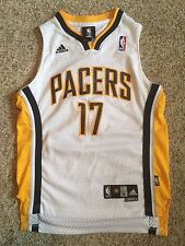 NBA Indiana Pacers Mike Dunleavy Jersey Youth Sz M 10-12 ADIDAS Sewn Swingman