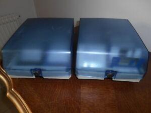 2 Boites rangement  BOEDER avec disquettes