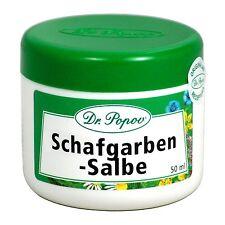 Schafgarben Salbe,Hämorrhoiden Natur Originalkräutersalben des Dr. Popov 50ml
