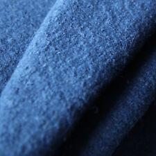 Kochwolle Walkloden - 100% Wolle - Trachten Jeans Dunkel Blau Marine Wollstoffe