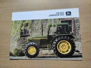 JOHN DEERE  TRACTORS THE NEW 3140 SERIES COLOUR FARMING PRE USED TRACTOR BROCHUR