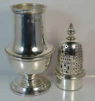 Very Heavy 1938 Solid Silver Sugar Sifter 10oz +