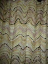 WORLD MARKET FLORENCE MARBLE PINK LAVENDER BLACK TAN (1) SHOWER CURTAIN 72 X 72