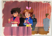 THE GIGANTOR  Original Production Animation Cel Painted background
