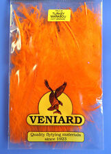 Truthahn Marabou 20 Federn Veniard Turkey Marabou large Hot Orange