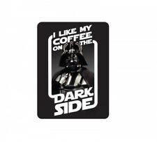 """Large Tin Sign Star Wars DARTH VADER /""""Your Empire Needs You/"""" Sci Fi Last Jedi UK"""