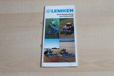 140869) Lemken Bodenbearbeitung Drilltechnik Prospekt 11/1997