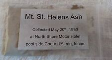 Mt St Helens Ash 1980 From Idaho History Geological Catastrophe Science Volcano