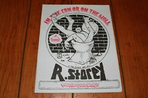 In the Can or on the Wall R Storey Flyer Art Snakebomb Portland Peter Bagge Copy