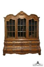 "FERGUSON COPELAND 84"" Venetian Carved Lighted China Cabinet 252-49"