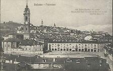 Cartolina di Saluzzo Cuneo - Panorama - Non Viaggiata anni '20