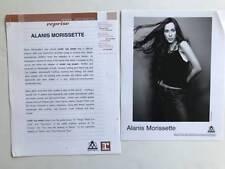 Alanis Morissette Under Rug Swept Presskit with 8x10 Photo 2001