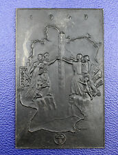 Eisenplakette Lauchhammer 1947 von Propf